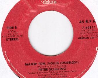 Peter Schilling Major Tom 45 Vinyl LP Record 7-69811