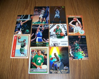 50 Boston Celtics Basketball Cards