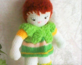 IRMA, mini doll hand made