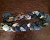 Hand dyed merino wool, hand painted merino roving, hand painted merino combed top, merino spinning fiber, merino felting fiber