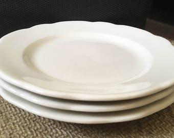 Buffalo China Restaurant Dinner Plates - Set of 2