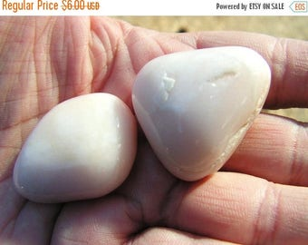 ON SALE 15 percent off PINK Opal pebbles, rocks, crystal, mineral, new age, metaphysical, magic
