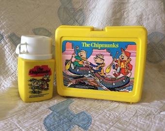 1980's Chipmunks Lunchbox