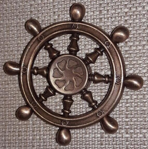 Ship Wheel Fidget Spinner