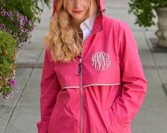 Charles River Rain Jacket, Monogram Rain Jacket, Monogrammed Rain Jacket, Monogram Rain Coat, Charles River, Rain Jacket, Rain Coat, Jacket