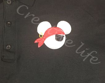Ladies -Disney cruise  logo-Pirate night  - Women's Polo shirt