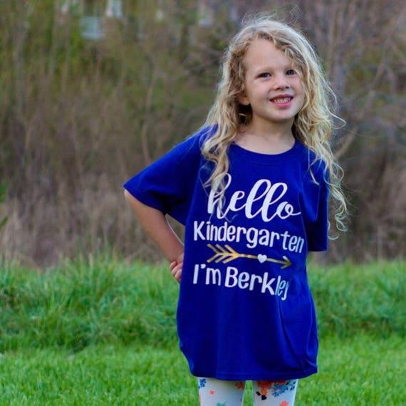 Hello Kindergarten - Child's Name