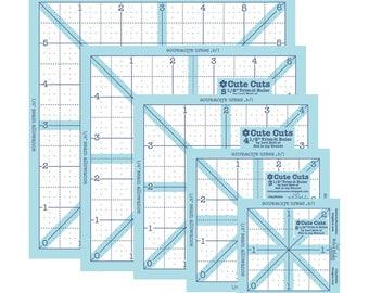 Lori Holt Trim-It Square Ruler Pack - Set of 5