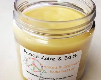 Bite Me Body Butter - made with Hemp Oil - Shea Butter - Coconut Oil