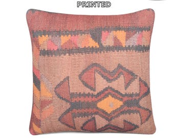 20x20 kilim pillow embellishing outdoor pillow case 20 inch pillow cover gypsy textile oversized throw pillow primitive country decor 11-50