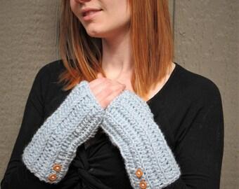Crochet Wrist Warmer/ Fingerless Gloves