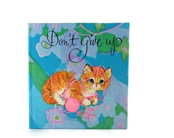 Don't Give Up - 1969 Vintage Gift Book