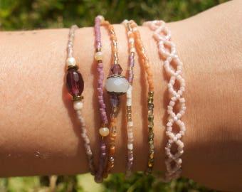 Set of Six Bracelets