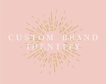 Custom Brand Identity Design. Branding Kit. Custom Branding