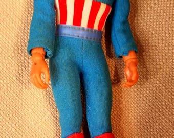 1973 Mego Captain America Figure