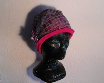 Children, reversible, repeating chemo hat, season, summer