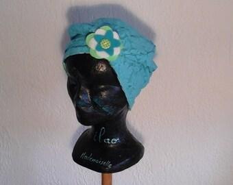 Reversible, stretchy child chemo hat, season, summer