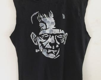 Frankenstein's Monster t's by Chad Cherry