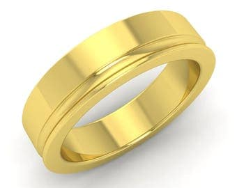 Mens Engagement Ring | Mens Wedding Ring | Mens Anniversary Ring | Mens Gold Ring | Mens Band | Gift For Men | Mens Band | Mens Wedding Band
