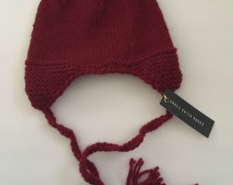6 month Knitted Baby Beanie