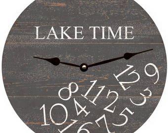 On Lake Time Etsy