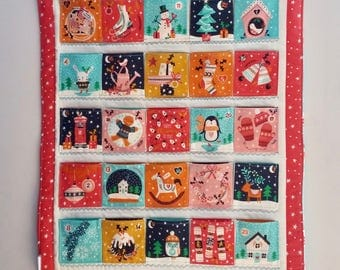Made to Order - Merry Little Christmas quilted Advent Calendar
