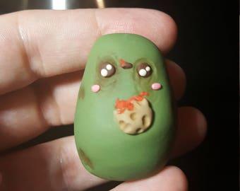 Kawaii zombie potato