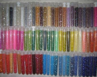 Lot 40 bags mylittlebird seed beads