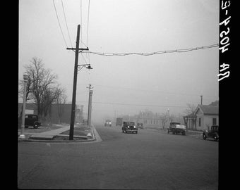Amarillo, Texas. 1936, Dust Storm