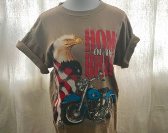 Vintage Harley tee shirt / Vintage Harley Shirt / Motorcycle Shirt / Harley Davidson / Vintage tee
