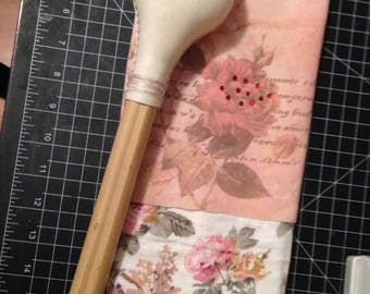 "Custom Order for Jade - ""Wild Rose"" Rattle"