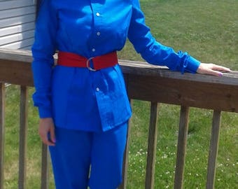 Adult Violet Beauregarde Costume set (Willy Wonka and the Chocolate Factory - 1971) (Teenage/Women sizes ONLY)