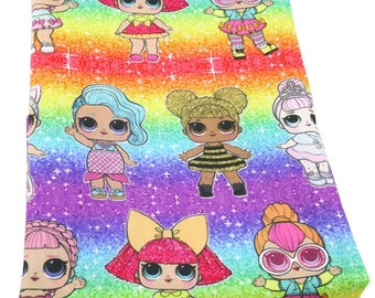 lol rainbow  fabric