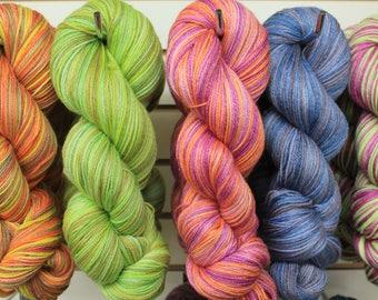 Sock Yarn, SW Merino/Bamboo/Nylon, 450 Yd, 4 oz