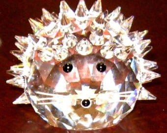 Swarovski Crystal King Size Hedgehog 7630 060 000 / 7630NR60 (D)