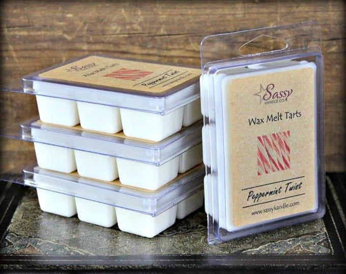 PEPPERMINT TWIST | Wax Melt Tart | Sassy Kandle Co.