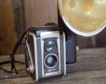 Vintage Camera vintage photography camera decor Kodak Dualflex camera