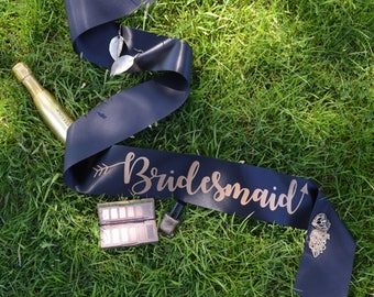 Bridesmaid Sash - Bride Tribe Hen Party Range - Other Matching Sashes Available