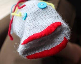 Mr. Fizzles Sock Puppet