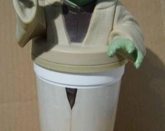 Star Wars Jar Jar Binks 1999 Yoda KFC/Pizza Hut/Taco Bell/Pepsi Cup Figure