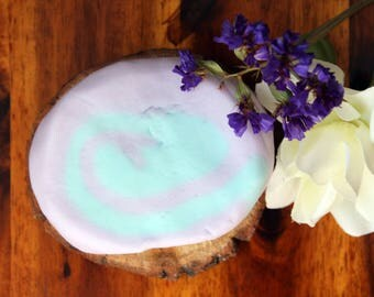 Jasmine bubble bar, solid bubble bar, bubble bath, purple bubble bar, floral bubble bath, sls free, floral bubble bar, floral bath soak