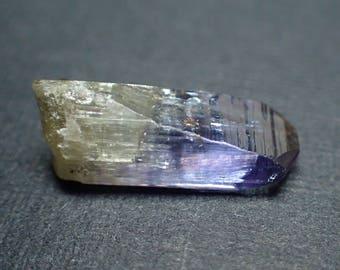 Tanzanite crystal from Tanzania - 3.8ct / 15mm x 4.9mm x 5.6mm (b1802)
