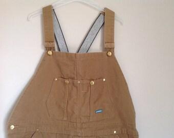 Vintage bib overalls women's  men's bib overalls dungarees women's bib overalls working overalls