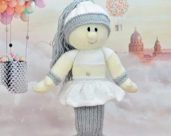 KNITTING PATTERN - Mermaid Doll Knitting Pattern Download From Knitting by Post