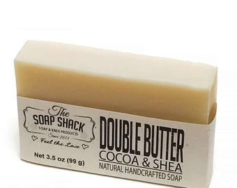 Shea Butter & Cocoa Butter Soap bar