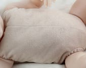 "17""-18"" reborn doe suede body for baby doll kits for completely full limbs arms & legs!"