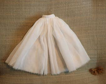 Bloomsbury Long Full Skirt ~ Vintage Voile - A BirdyBoo Design from the Bloomsbury Collection for Blythe