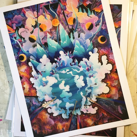 Fire and Ice || Giclee Print