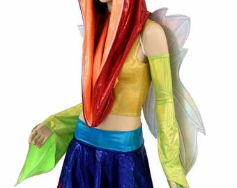 "Weekender III Pixie Edition ""RAINBOW FAIRY"" with Flashbulb Holographic Wireless Fairy Wings - 154810"