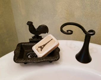 Iron Rooster Soap Dish